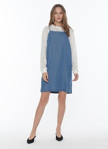 Calvin Klein Elbise İndigo